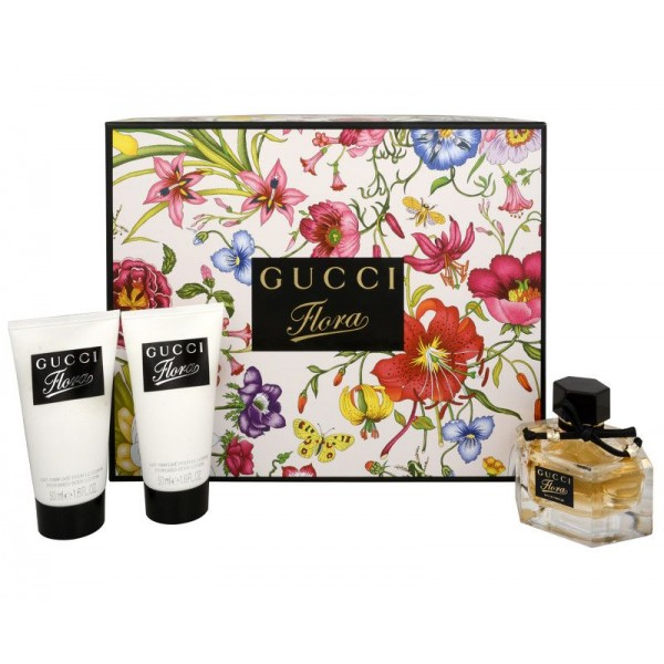 GUCCI Flora by Gucci EDP 50 ml / Body Lotion 2 x 50 ml