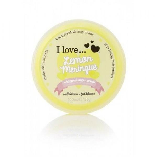 I love Lemon Meringue Whipped Sugar Scrub 200ml