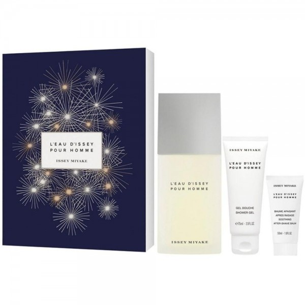 ISSEY MIYAKE L´Eau D´Issey pour Homme EDT 125 ml / shower gel 75 ml / after shave balm 50 ml