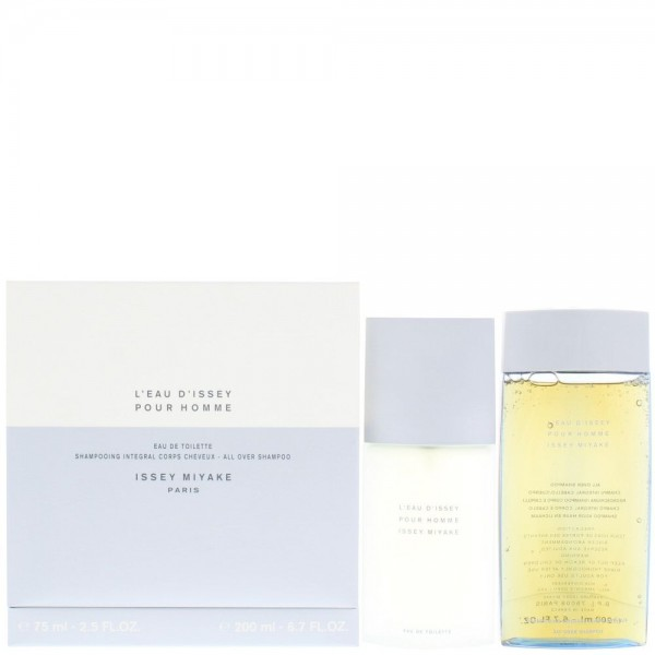 Issey Miyake L'eau Dissey Pour Homme Edt 75ml / Shampoo 200ml
