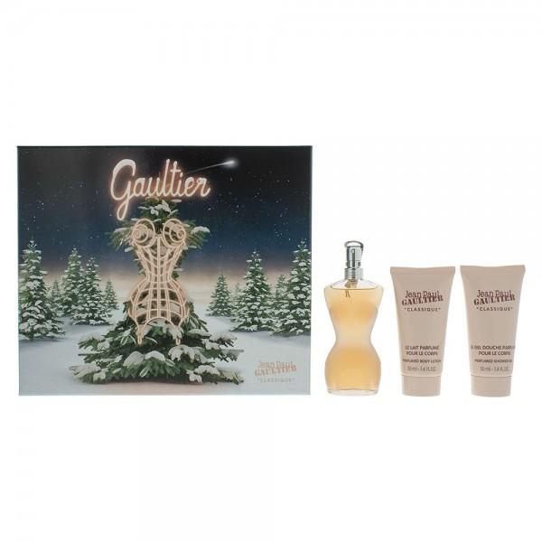 Jean Paul Gaultier Classique Edt 50ml / Body Lotion 50ml / Shower Gel 50ml