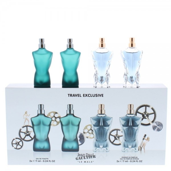 Jean-Paul Gaultier Jpg Le Male 2 X 7ml Edt / 2 X 7ml Essence De Parfum