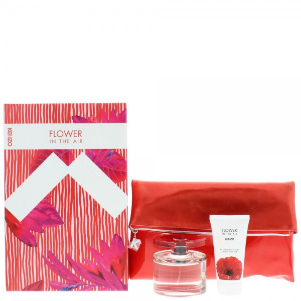 Kenzo Flower In The Air Edp 100ml / Body lotion 50ml / Bag