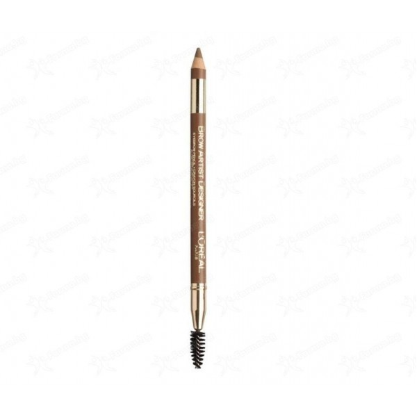 L´Oreal Brow Artist Designer - Eyebrow Pencil With Brush 1.2 G 302 Golden Brown