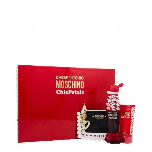 Moschino Cheap & Chic Petals Edt 50 Ml / Body Milk 50 Ml  / Wallet