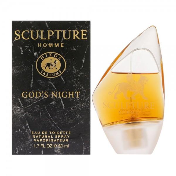 NIKOS Sculpture Homme God´s Night EDT 100ml