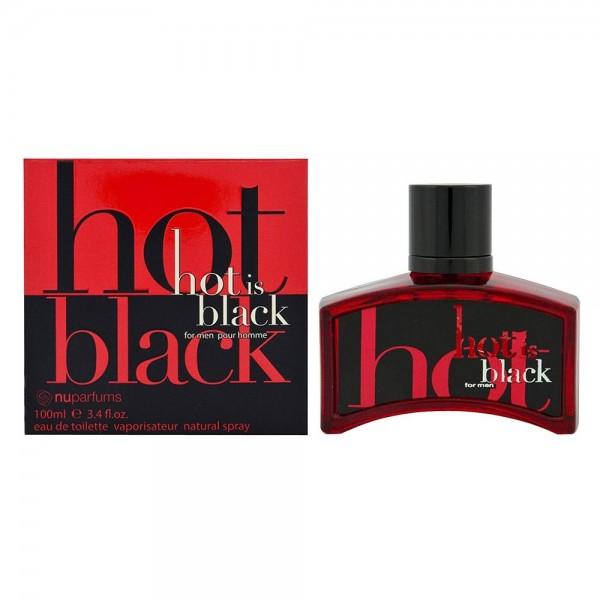 NUPARFUMS Black is Black Hot EDT 100ml