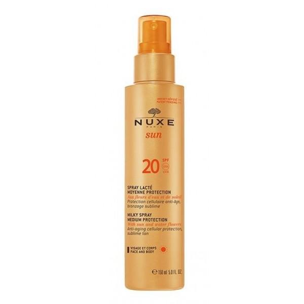 Nuxe Sun Face And Body Milk Spf20 150ml