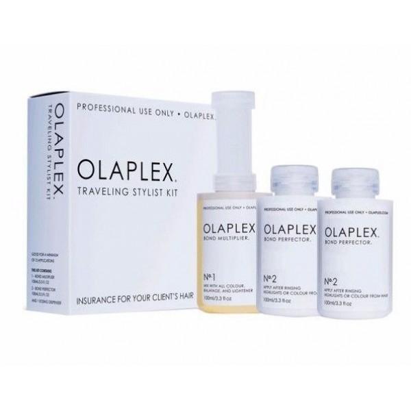 Olaplex Traveling Stylist Kit - Dyed & Damaged Hair Treatment 300ml