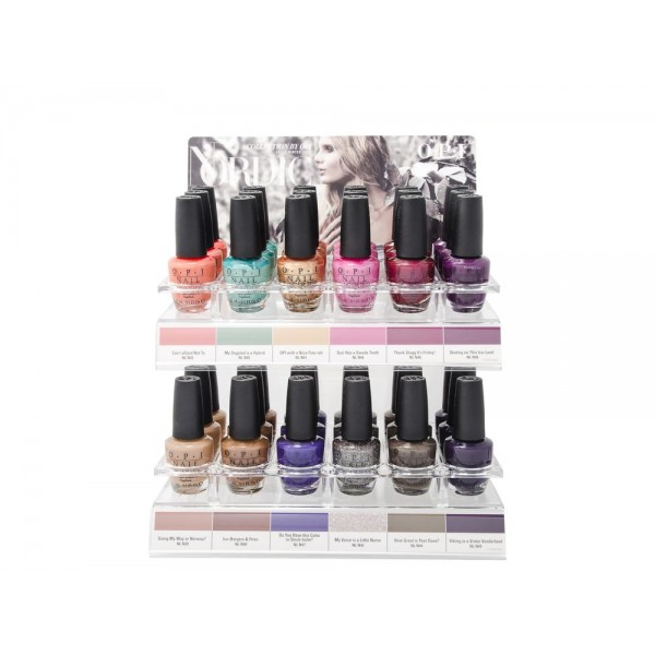 Opi Nordic Collection C+A Display 48 Nail Polishes