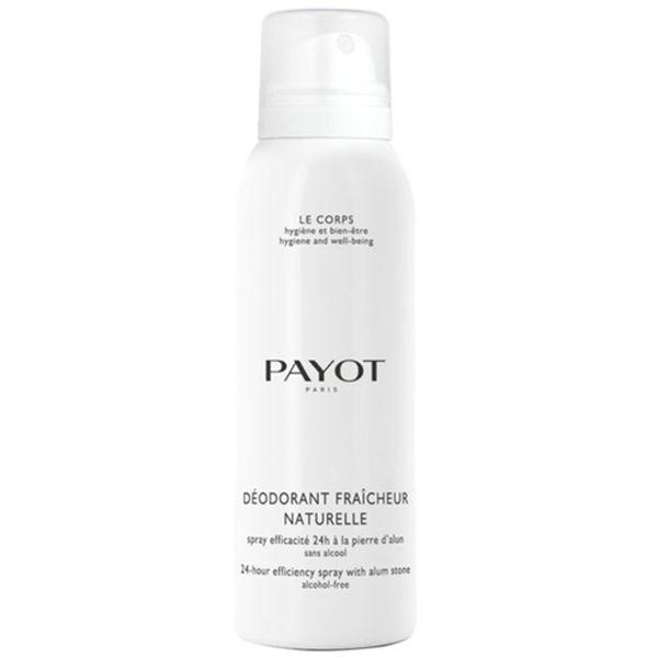 Payot Deodorant Fraicheur Naturelle 24Hr Alcohol Free 125ml