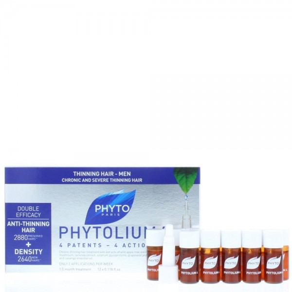 Phyto Phytolium 4 Energising Botanical Concentrate 12 X 3.5ml