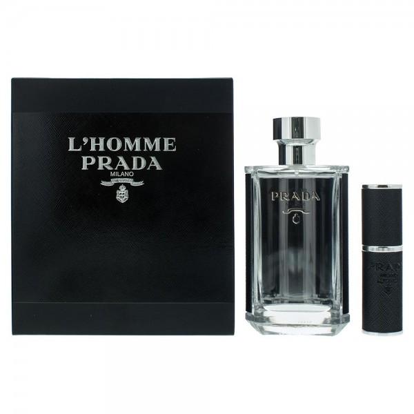 Prada L'Homme Prada Edt 100ml / Edt 8ml Refillable