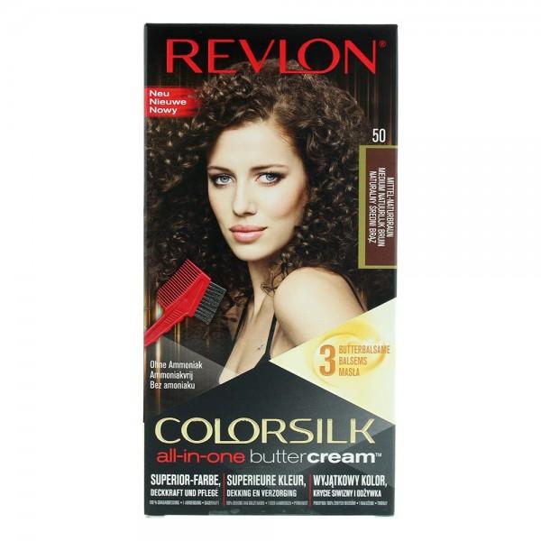 Revlon Colorsilk Buttercream Lasting Color Medium Natural Brown
