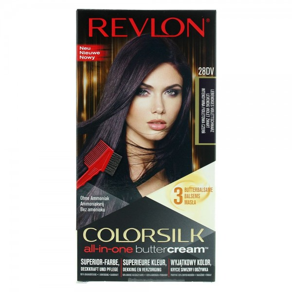 Revlon Luxurious Colorsilk Buttercream Vivid Color Violet