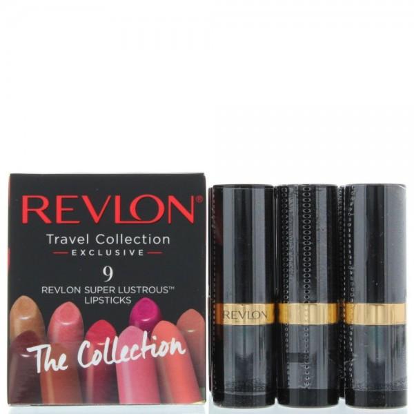 Revlon Super Lustrous Lip Cube 9 X Different Lipsticks