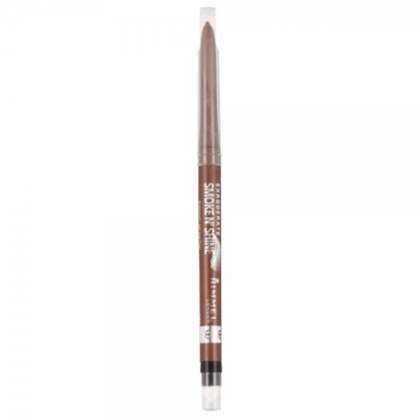 Rimmel Exaggerate Smoke N`Shine Gel Eye Liner 0.28g 002 Copper Bling