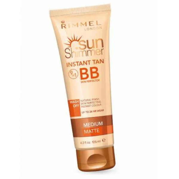 Rimmel SunShimmer Instant Tan BB Cream 125 ml 002 Medium Matte