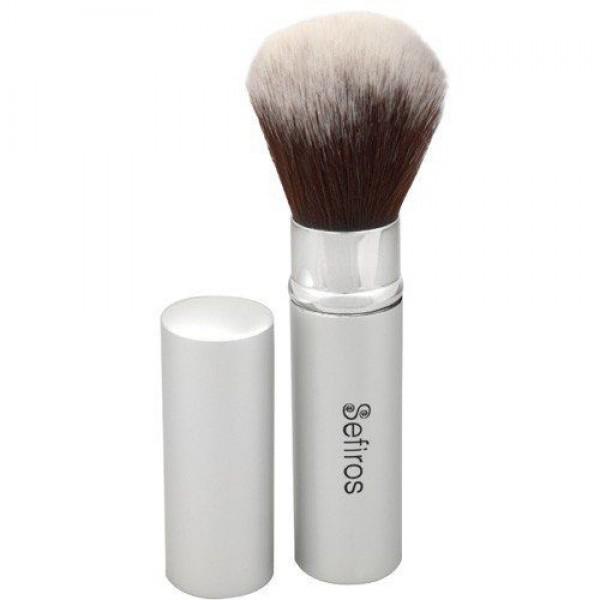 Sefiros Silver Retractable Brush