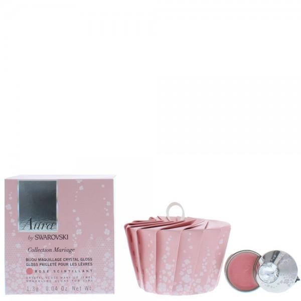 Swarovski Mariage Crystal Lip Gloss jewel Rose 1.3G