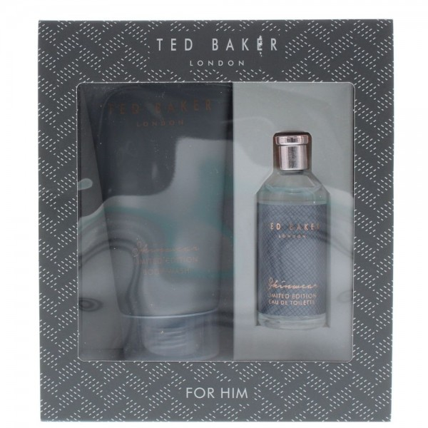 Ted Baker For Him Skinwear Limited Edition Edt 10ml / Body wash 50ml