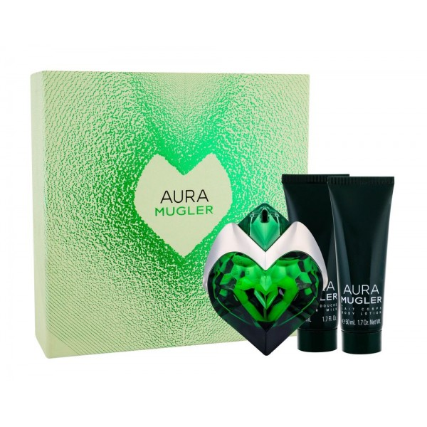 THIERRY MUGLER Aura EDP 50 ml / body lotion 50ml / shower milk 50ml