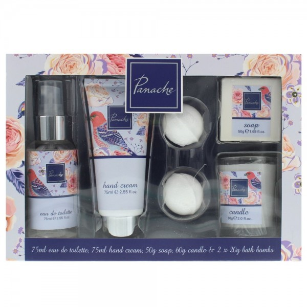 Tol Panache 75ml Edt - Hand Cream 75ml - Soap 50 Gr - Candle 60Gr -