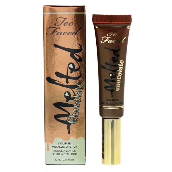 Too Faced Metallic Candy Bar 12ml Melted Chocolate Metallic Lipstick