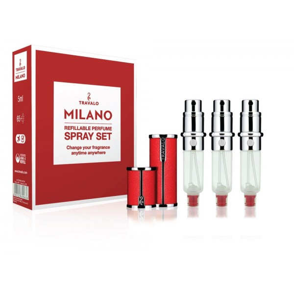 TRAVALO Travalo Milano Red Set 5ml