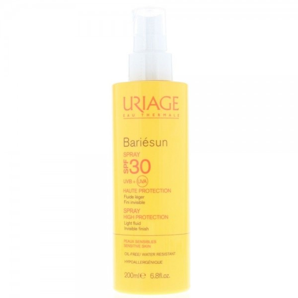 Uriage Bariesun Spray 200ml Spf 30 High Protection