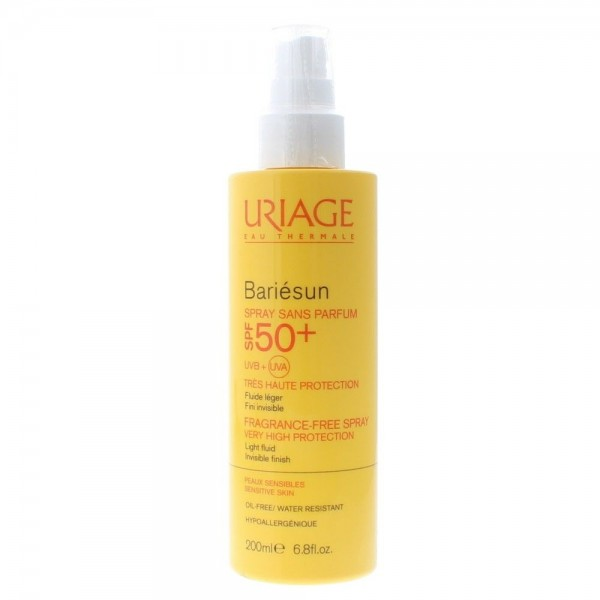 Uriage Bariesun Spray 200ml Spf 50+ Very High Protection