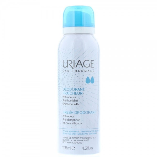 Uriage Eau Thermale Deodrant 125ml