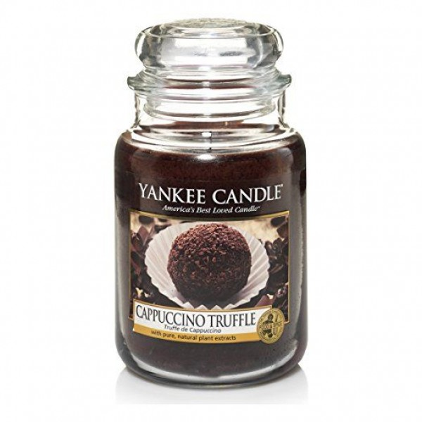 Yankee Candle Cappuccino Truffle - Aromatic Candle Decor Small 198.0g