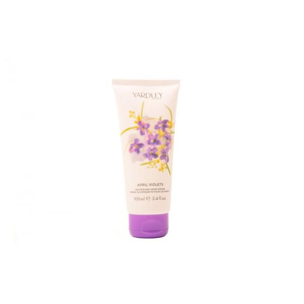 Yardley April Violets Hand Cream 100ml