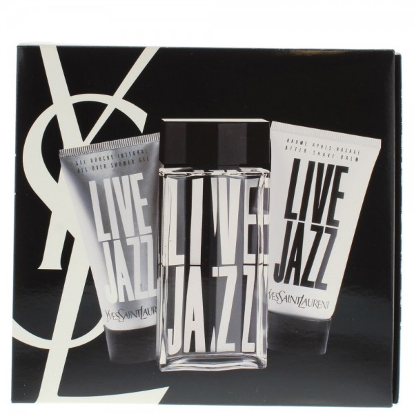 Yves Saint Laurent Jazz Live Edt 50ml / aftershave 50ml / Shower Gel 50ml